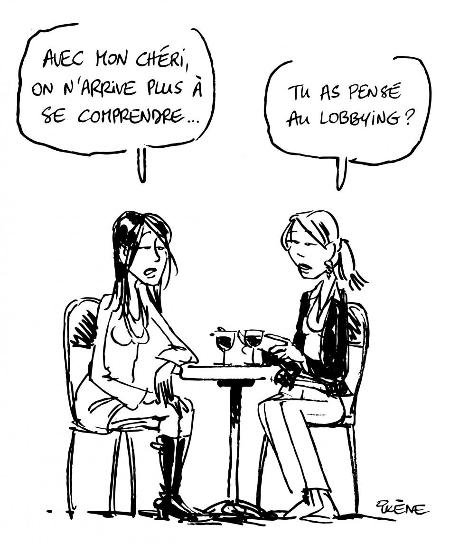 Dessin Ixène - Copines