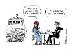 Dessin Ixène - Marianne