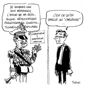 Dessin Ixène - Dictateur